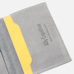 Ally Capellino Fletcher SLG Wallet Grey/Yellow photo- 2