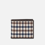 Кошелек Aquascutum Club Check ID Sleeve Brown фото- 0