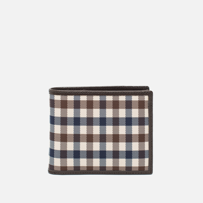 Кошелек Aquascutum Club Check ID Sleeve Brown
