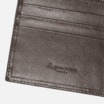 Кошелек Aquascutum Club Check ID Sleeve Brown фото- 3