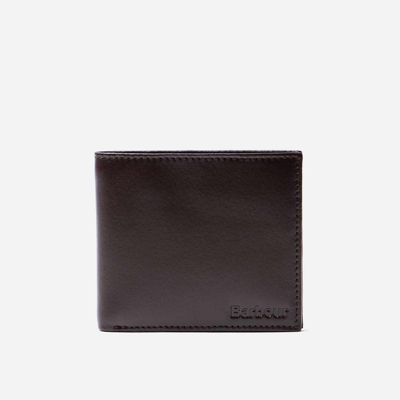 Кошелек Barbour Kirkham Leather Billfold Dark Brown