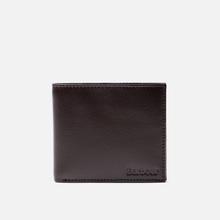 Кошелек Barbour Kirkham Leather Billfold Dark Brown фото- 0