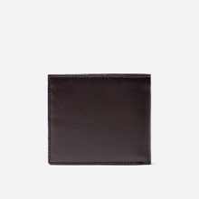 Кошелек Barbour Kirkham Leather Billfold Dark Brown фото- 2