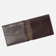 Кошелек Barbour Kirkham Leather Billfold Dark Brown фото- 4