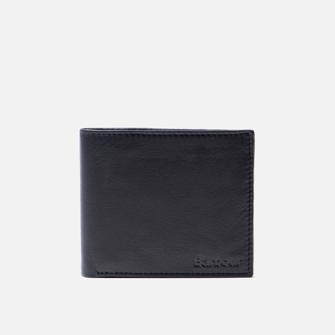 Кошелек Barbour Leather Billfold Navy