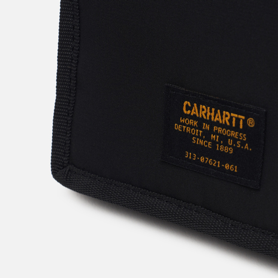 Кошелек Carhartt WIP Ashton 5.8 Oz Black