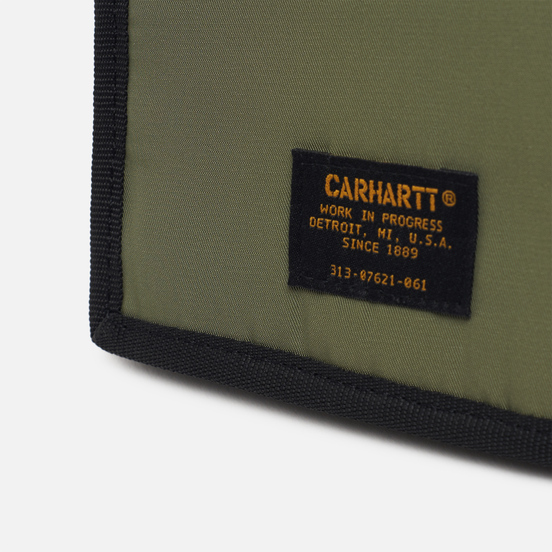 Кошелек Carhartt WIP Ashton 5.8 Oz Dollar Green