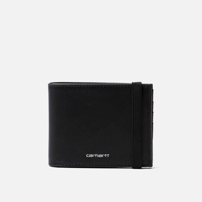 Кошелек Carhartt WIP Coated Billfold Black/White