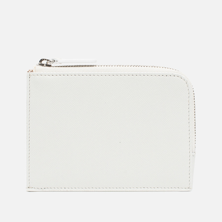 Common Projects Zipper Off Wallet White