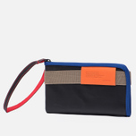 Кошелек Cote&Ciel Wallet Large Leather Black/Taupe/Indigo Blue фото- 1
