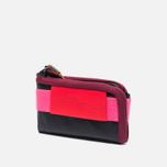 Cote&Ciel Wallet Medium Leather Wallet Black/Fluo Pink/Dark Orchid photo- 1