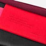 Cote&Ciel Wallet Medium Leather Wallet Black/Fluo Pink/Dark Orchid photo- 5