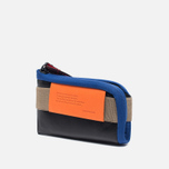 Кошелек Cote&Ciel Wallet Medium Leather Black/Taupe/Indigo Blue фото- 2