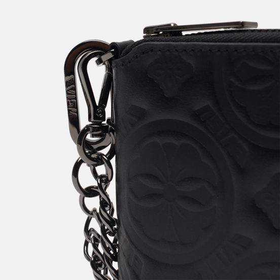 Кошелек Evisu Heritage Kamon Deboss Black