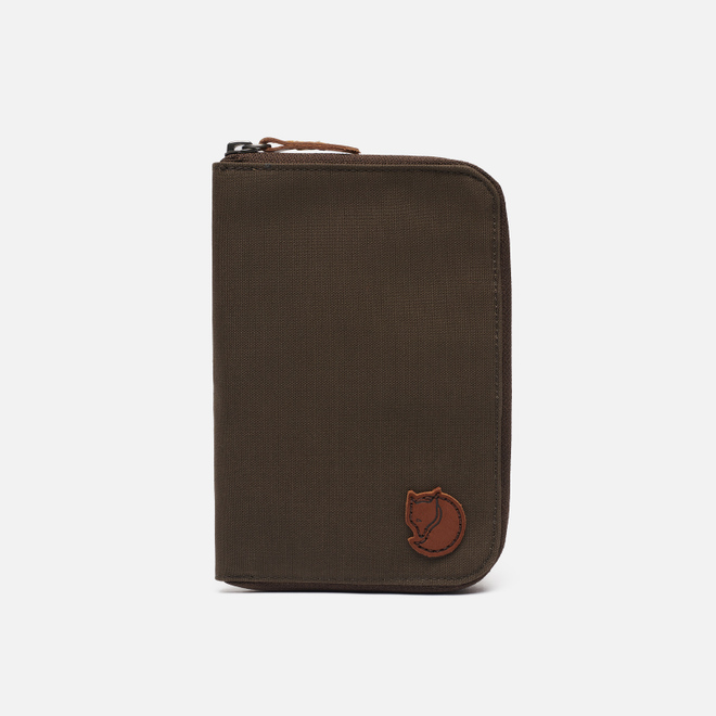Кошелек Fjallraven Passport Dark Olive