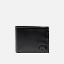 Кошелек Fred Perry Contrast Leather Billfold Black фото- 0