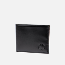 Кошелек Fred Perry Contrast Leather Billfold Black фото- 1