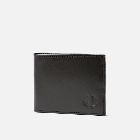 Кошелек Fred Perry Contrast Leather Billfold Olive