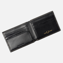 Кошелек Fred Perry Contrast Leather Billfold Olive фото- 4