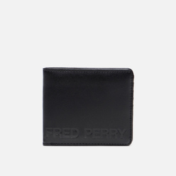 Кошелек Fred Perry Embossed Billfold Black