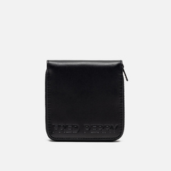 Кошелек Fred Perry Embossed Zip Around Black