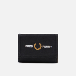 Кошелек Fred Perry Graphic Velcro Black