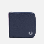 Кошелек Fred Perry Scotch Grain Zip Around Navy фото- 0