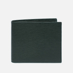 Кошелек Hackett Curzon Range Billfold Green фото- 0