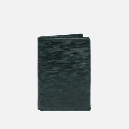 Hackett Curzon Range Open Pocket Wallet Green