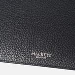 Кошелек Hackett Pebble Receipt Black фото- 2