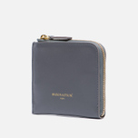 Кошелек Maison Kitsune Coin Purse Leather Anthracite фото- 1