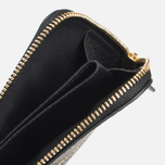 Кошелек Maison Kitsune Coin Purse Leather Black фото- 1