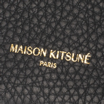 Кошелек Maison Kitsune Coin Purse Leather Black фото- 3