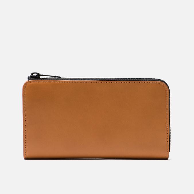 Кошелек Maison Margiela 11 Leather Long Zip Cuoio/Black