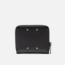 Кошелек Maison Margiela 11 Leather Small Zip Black/Black фото- 2