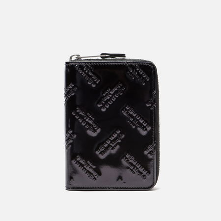 Кошелек Maison Margiela Zip Embossed Logo Black