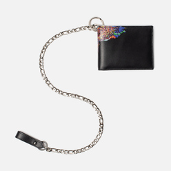 Кошелек Marcelo Burlon Multicolor Wings Chain Black/Multicolor