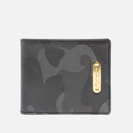 Master-Piece Land Wallet Camo Black