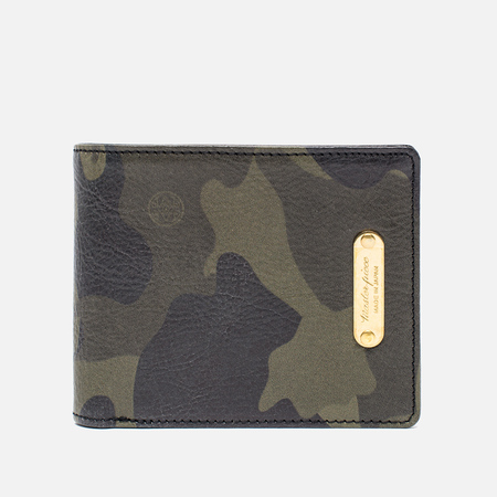 Master-Piece Land Wallet Camo Khaki