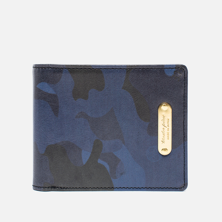 Master-Piece Land Wallet Camo Navy