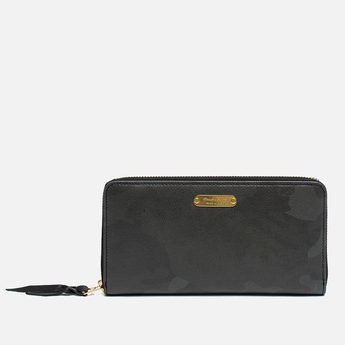 Master-piece Land Large Wallet Camo Black