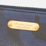 Master-Piece Land Long Zip Wallet Camo Navy photo- 1