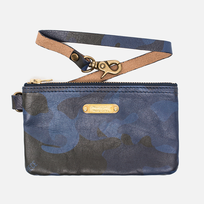 Master-Piece Land Zip Wallet Camo Navy