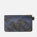 Master-Piece Land Zip Wallet Camo Navy photo- 3