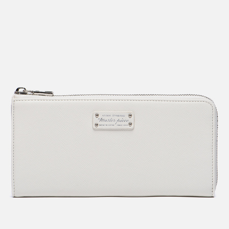 Кошелек Master-piece Noble Zip Leather White