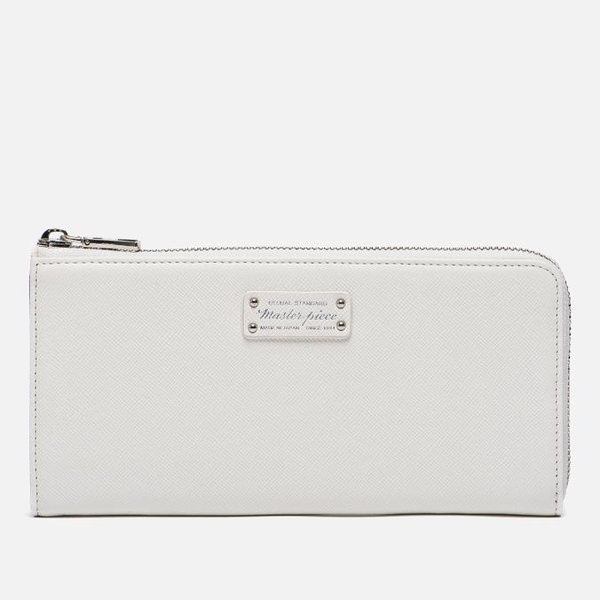 Кошелек Master-piece Noble Zip Leather White
