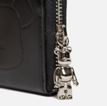 Кошелек Medicom Toy Bearbrick x Porter Leather Coin Case Black фото- 3