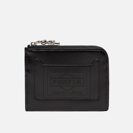 Кошелек Medicom Toy Bearbrick x Porter Leather L Type Black