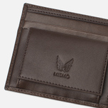 Кошелек Mismo Billfold Dark Brown фото- 3