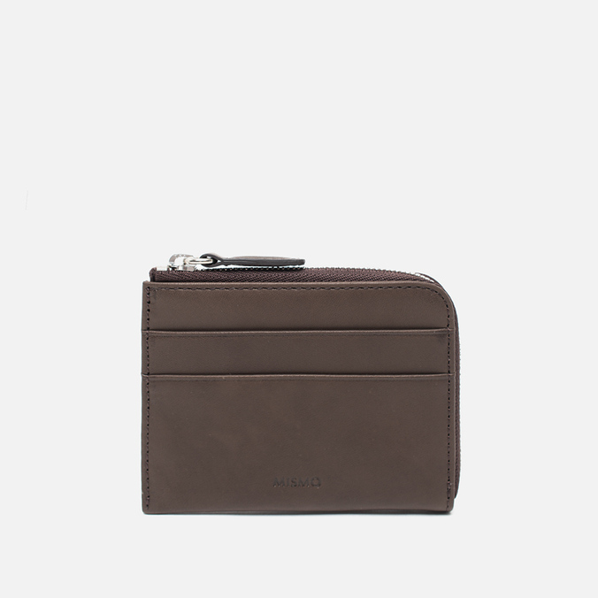 Кошелек Mismo Card Zip Dark Brown